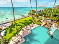 Waimanalo vacation rental: Royal Hawaiian Oceanfront Beach Estate Oahu