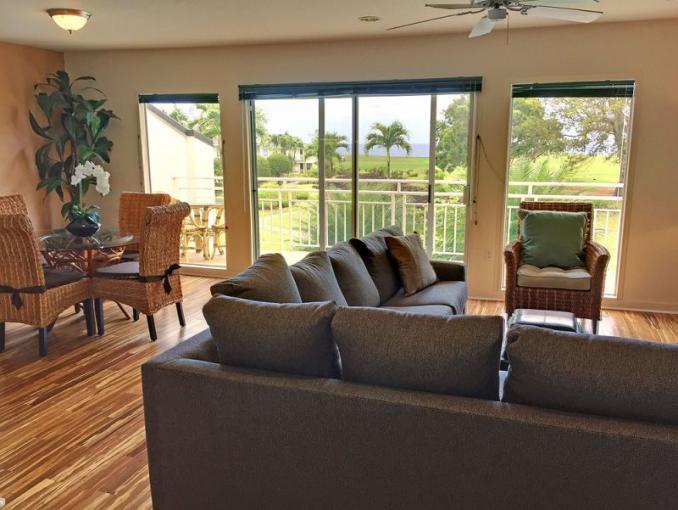 Princeville condo rental: Emmalani Court - 1BR Ocean View Condo #523