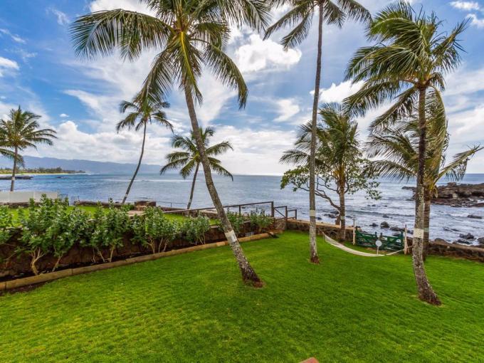 Waimea Bay Oceanfront Home