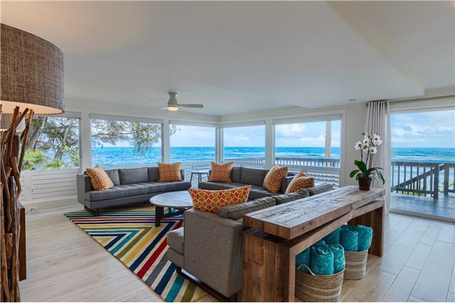 Haena Beach House - 5BR Home Beachfront