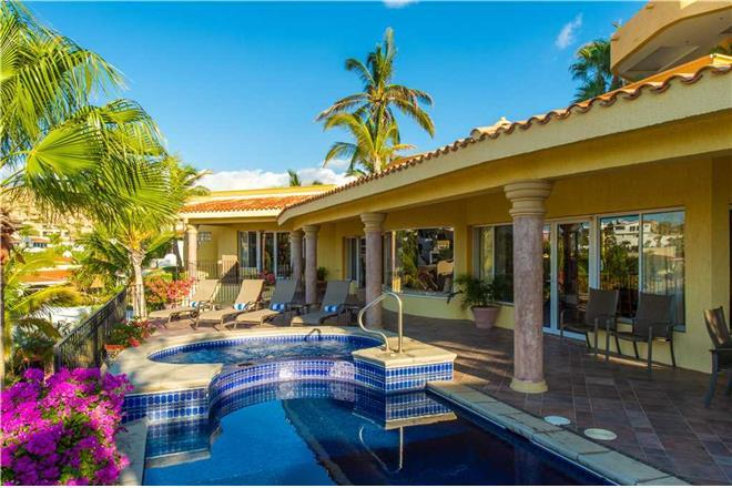 Cabo San Lucas vacation rental: Villa Bougainvillea - 4BR Home + Private Hot Tub + Private Pool