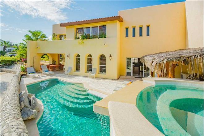 Cabo San Lucas vacation rental: Villa De La Luz - 5BR Home + Private Hot Tub + Private Pool