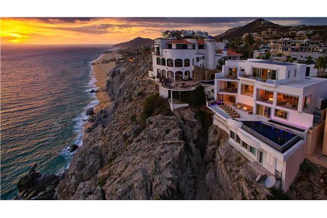 Cabo San Lucas vacation rental: Villa Lands End - 7BR Home Ocean Front + Private Hot Tub + Private Pool