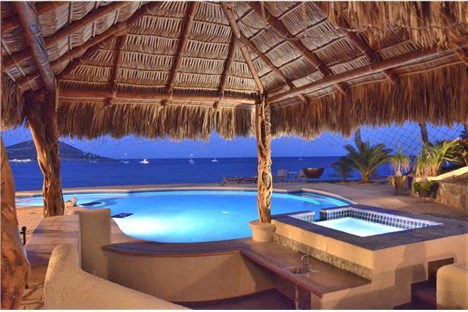 Cabo San Lucas condo rental: Villa Marlin - 6BR + Den Home + Private Hot Tub + Private Pool