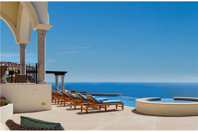 Cabo San Lucas vacation rental: Casa Stella - 10BR Home Ocean View + Private Hot Tub