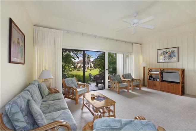 Poipu condo rental: Manualoha - 1BR Condo Garden View #802