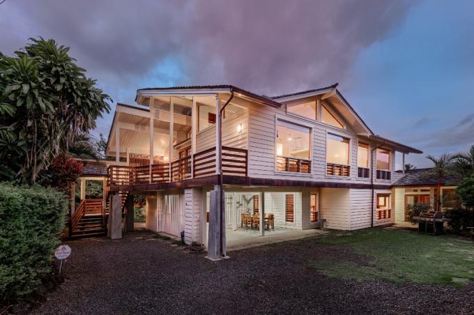 Hanalei vacation rental: Hale Aku in Hanalei - 4BR Home
