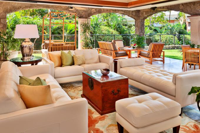 Floral Gardens Pool Villa G102 at Wailea Beach Villas